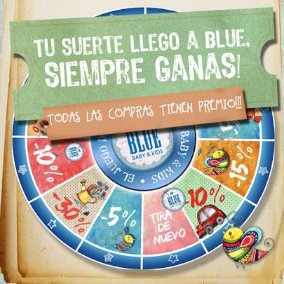 LA SUERTE LLEGÓ A BLUE!!!
